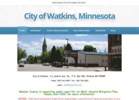 cityofwatkins.com
