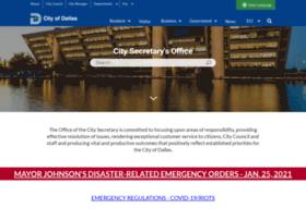 citysecretary.dallascityhall.com