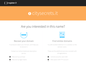 citysecrets.it