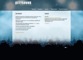 citysound.fi