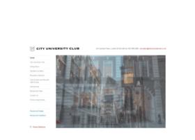 cityuniversityclub.co.uk
