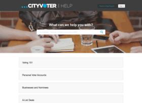 cityvoter.zendesk.com