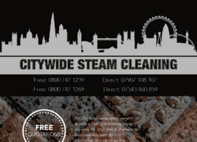 citywidesteamcleaning.com