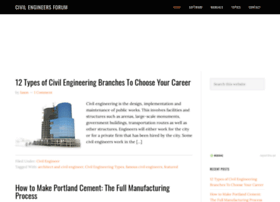 civilengineersforum.com