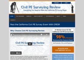 civilpesurveyingreview.com