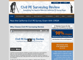 civilpesurveyreview.com
