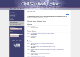 civilwarbookreview.com