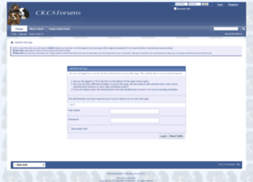 ckcsforums.com