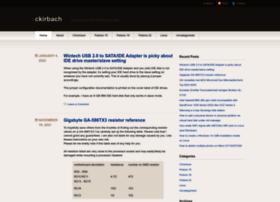 ckirbach.wordpress.com