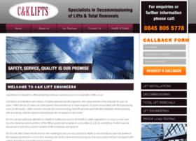 cklifts.co.uk