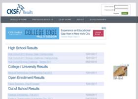 cksf-results.com