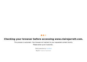 clairejarrett.com
