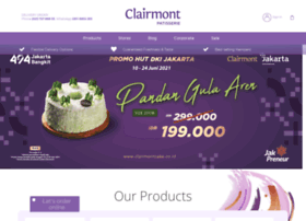 clairmontcake.co.id