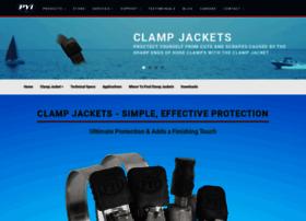 clampjacket.com