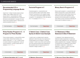 clanguagebasics.com