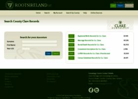 clare.rootsireland.ie