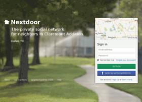 claremontaddition.nextdoor.com