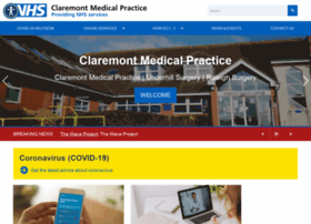 claremontmedicalpractice.co.uk