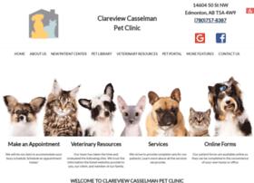 clareviewpetclinic.com