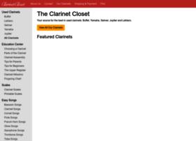 clarinetcloset.com
