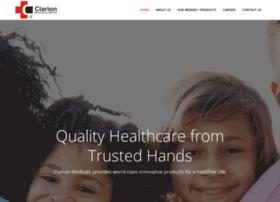 clarionmedicals.com
