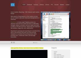 claritylegalsoftware.com
