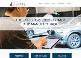 clarityresearch.net