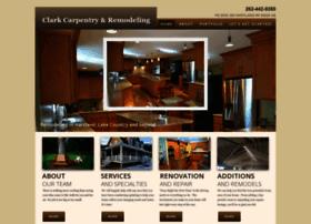 clarkcarpentryremodeling.com