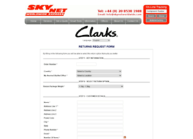 clarks.skynetworldwide.com