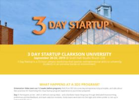 clarkson.3daystartup.org