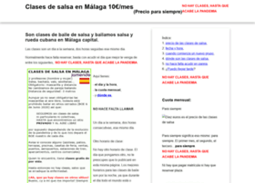 clasesdesalsaenmalaga.com