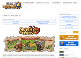 clashofclanspcs.net