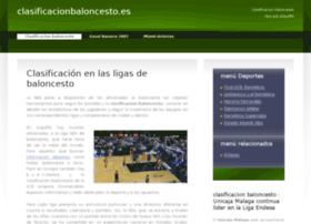 clasificacionbaloncesto.es