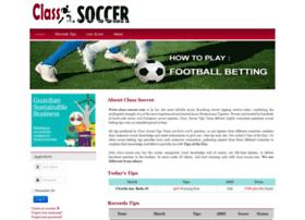 class-soccer.com