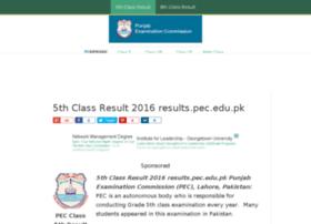 class5thresult.com