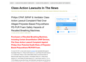 Classactionlawsuitsinthenews.com