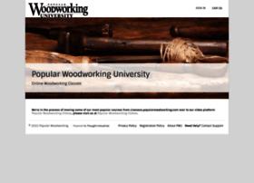 classes.popularwoodworking.com