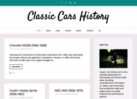 classic-car-history.com