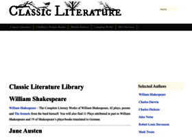 classic-literature.co.uk