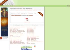 classical-scores.com