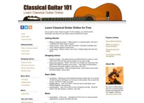 classicalguitar101.org