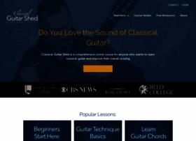 classicalguitarshed.com