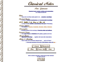 classicalnotes.net