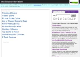 classicbooksrestored.com