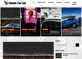 classiccarlist.co.uk