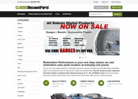classicdiscountparts.com