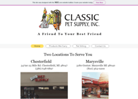 classicpetsupply.net