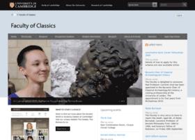 classics.cam.ac.uk