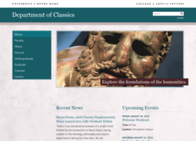 classics.nd.edu