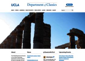 classics.ucla.edu